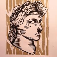 Dionysos in Tiger Print