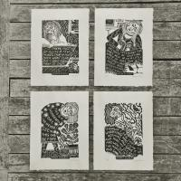 Inspirational Ladies - The set of four final prints