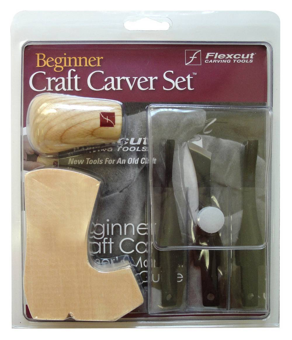 SK110 Beginner 3-Blade Craft Carver Set